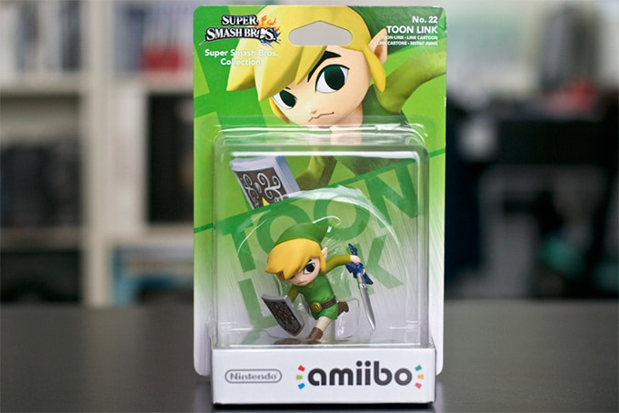 Collection Amiibo Zelda toon link