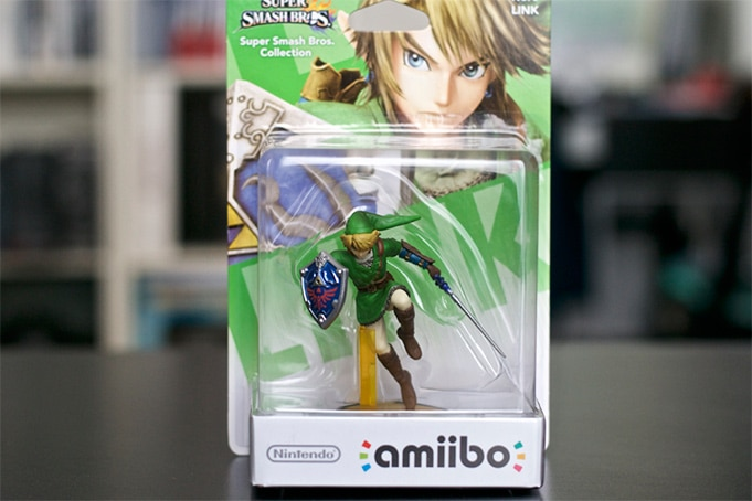 Collection Amiibo Zelda Link