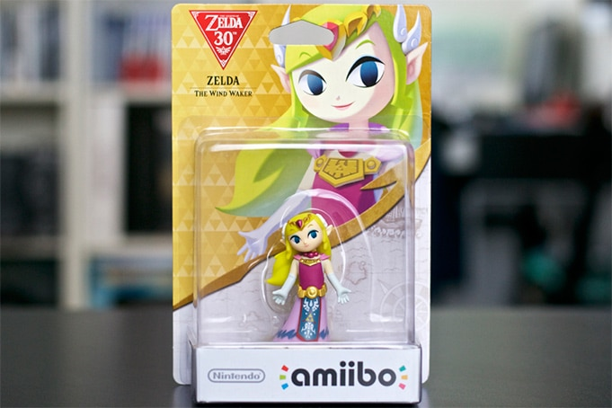 Collection Amiibo Zelda toon