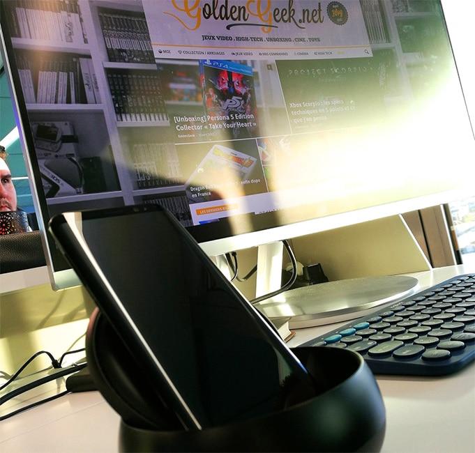 Prise en main Samsung galaxy S8
