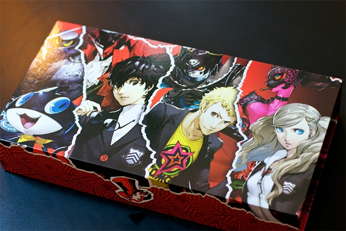 Unboxing Persona 5 Collector