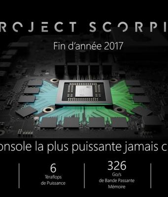 Xbox Scorpio Specs Prix Date