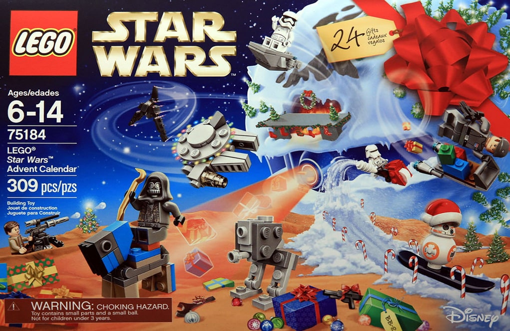 les nouveaut s lego star wars calendrier de l 39 avent 2017 inside figurines goldengeek. Black Bedroom Furniture Sets. Home Design Ideas