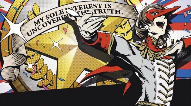 Persona 5 Goro all out Wallpaper