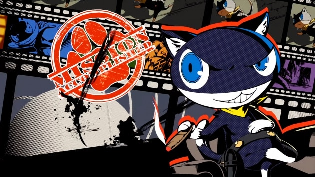 Persona 5 all out Morgana wallpaper