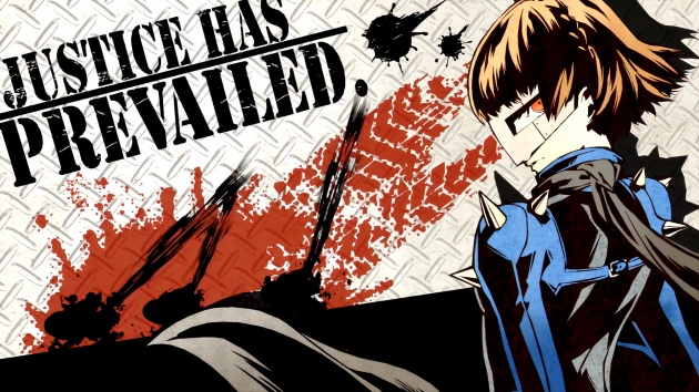 Persona 5 all out makoto wallpaper