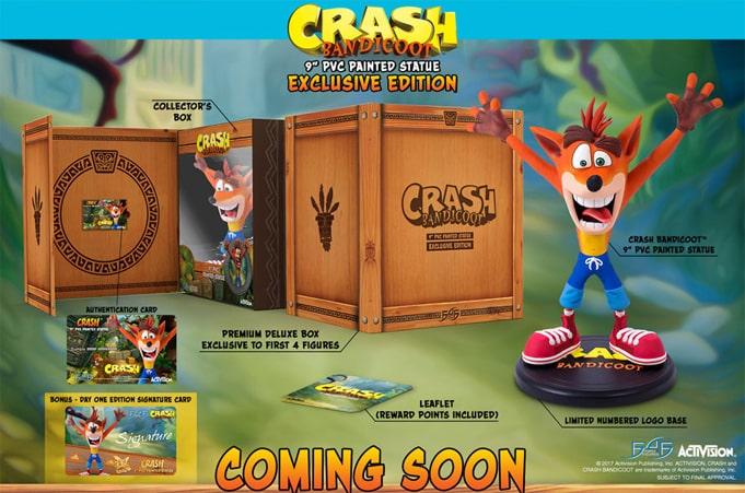 Figurine Crash Bandicoot F4F