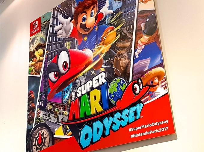 Impressions Super Mario Odyssey Switch
