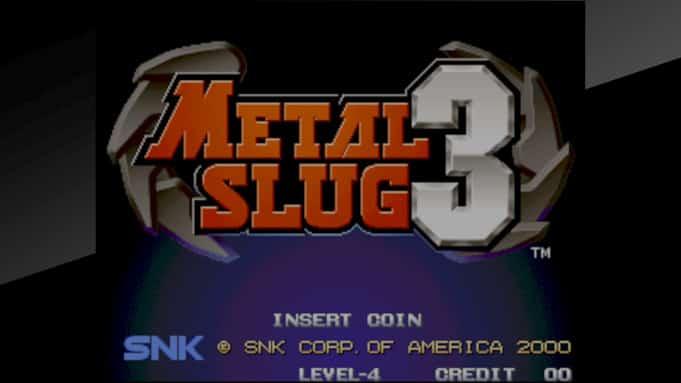 Nintendo Switch Metal Slug 3