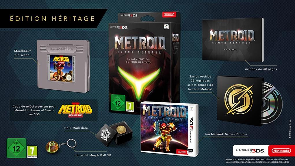 Precommande Metroid Samus Returns Collector 3DS