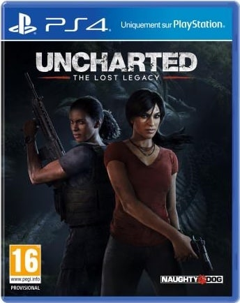 Uncharted 4 Lost Legacy PS4