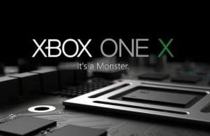 Xbox One X Date Prix E3 2017