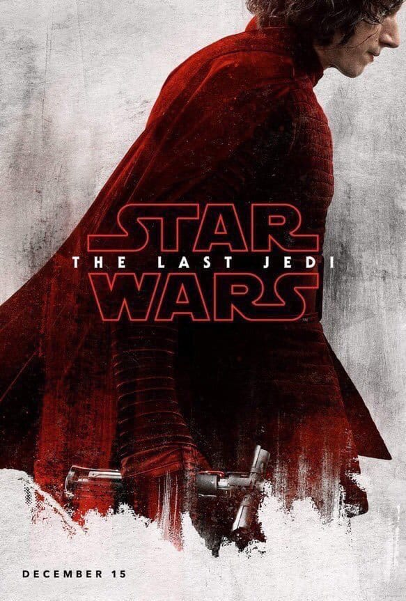 Disney D23 Star Wars The Last Jedi Poster