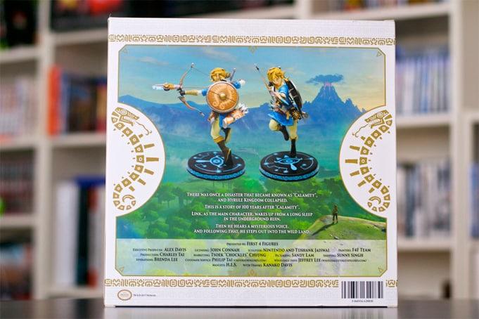 Figurine F4F Link Zelda botw-1