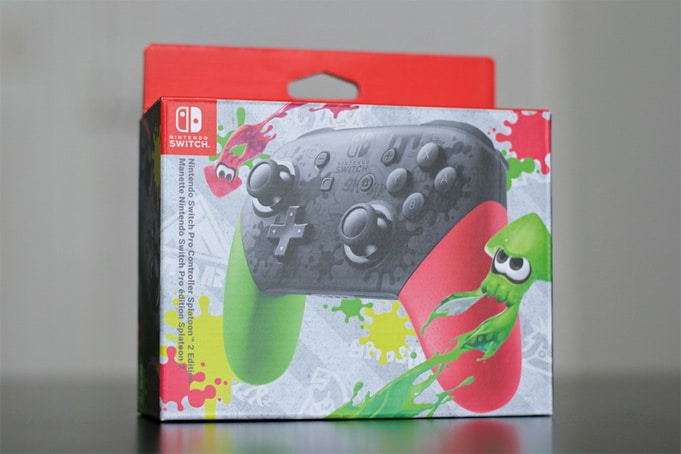 Manette Switch Splatoon 2