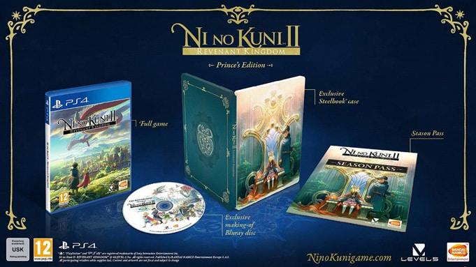 Ni No Kuni 2 Collector Prince