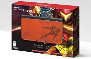 Nintendo 3DS XL Metrod Samus Edition COllector