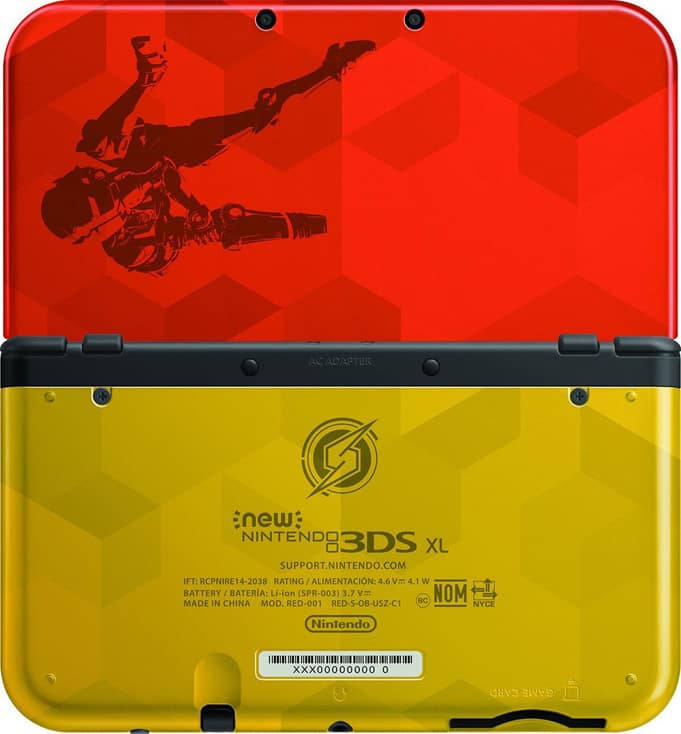 Nintendo 3DS XL Metrod Samus Edition COllector