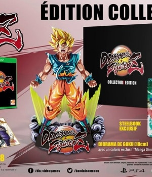 Precommande Dragon Ball Fighter Z Collector