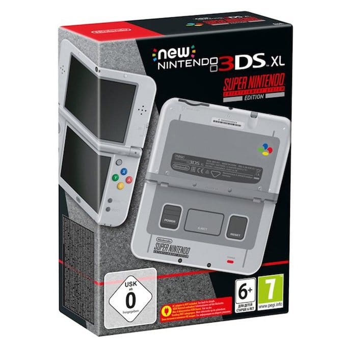 Precommande 3DS XL Super Nintendo - 2