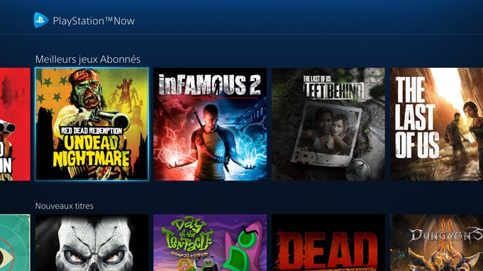 Test PS Now PS4 Avis