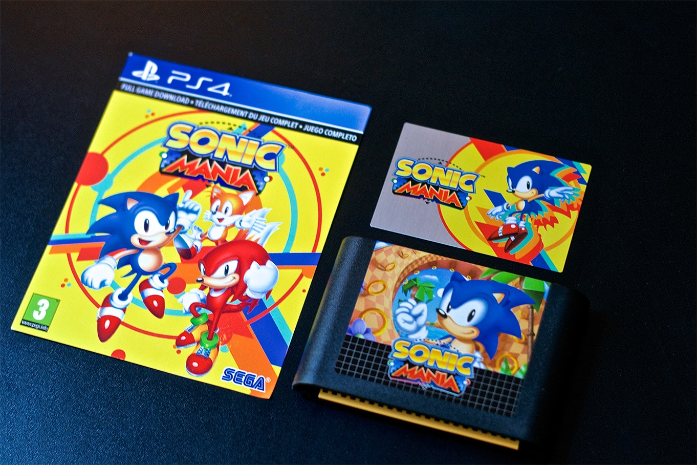 Unboxing Sonic Mania Collector PS4