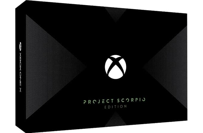 Xbox One X Edition Scorpio Day One