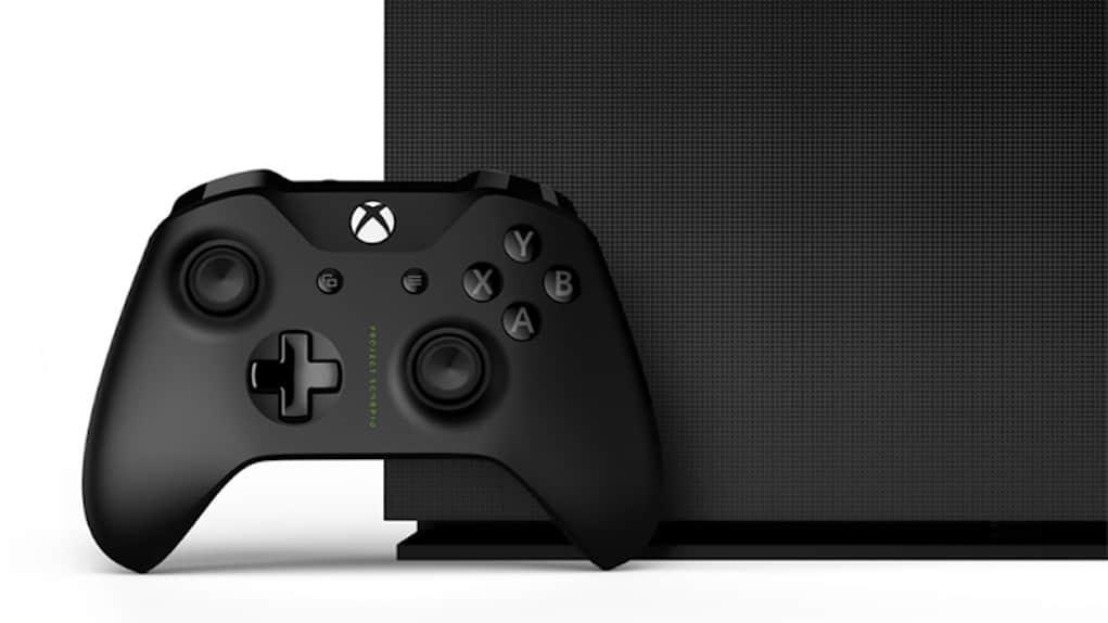 Xbox One X Precommande Scorpio