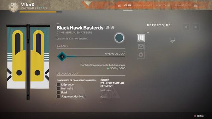 Destiny 2 matchmaking pour raid