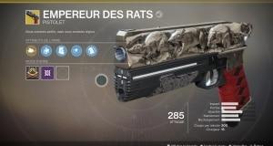 Empereur des rats exotique destiny 2