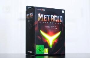 Unboxing Metroid Samus Returns Collector Heritage