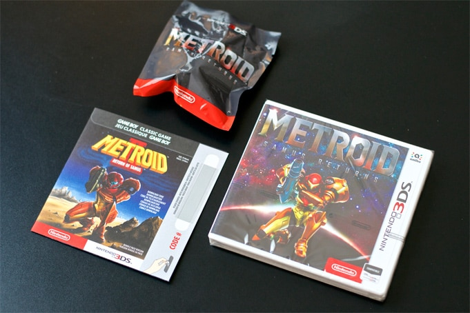 Unboxing Metroid Samus Returns Collector Heritage