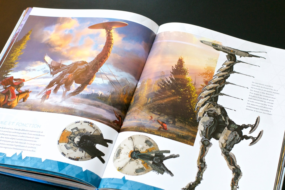 Artbook Horizon Zero Dawn version fr