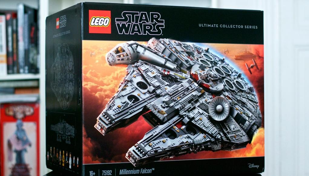 Faucon Millenium Lego Star Wars 75192