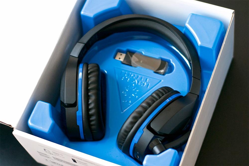 casque audio sans fil ps4 branchements