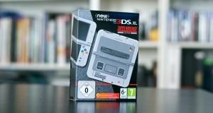 Unboxing 3DS XL Super Nintendo