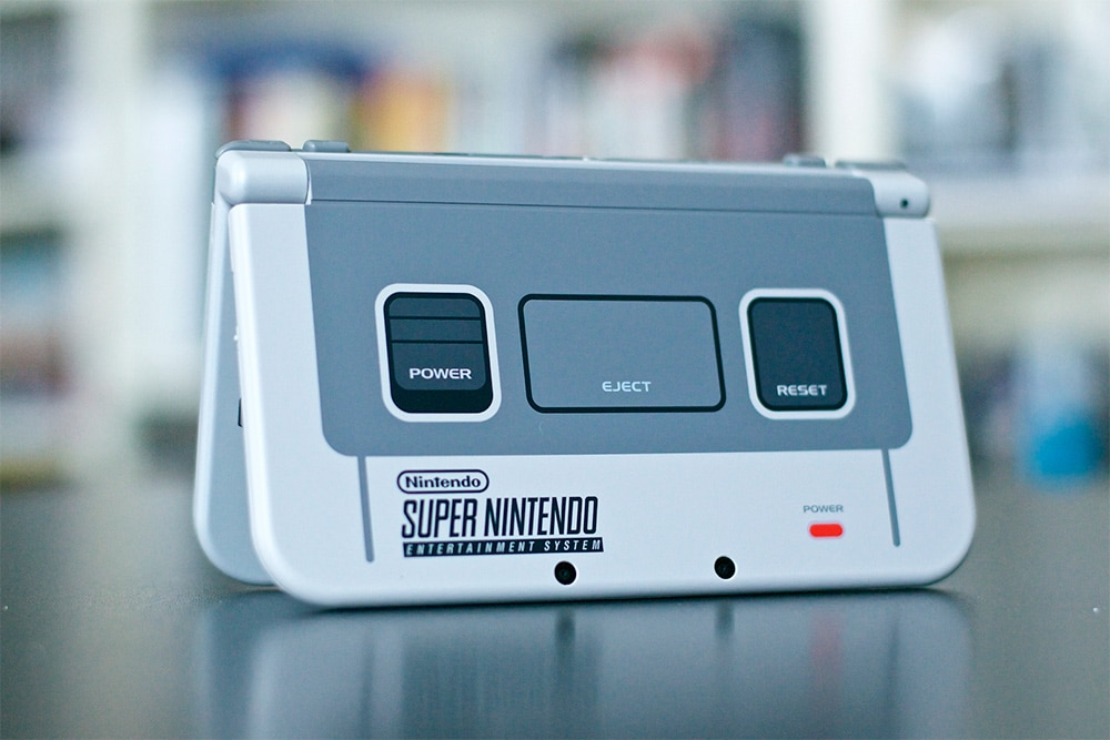 Unboxing 3DS XL Super Nintendo