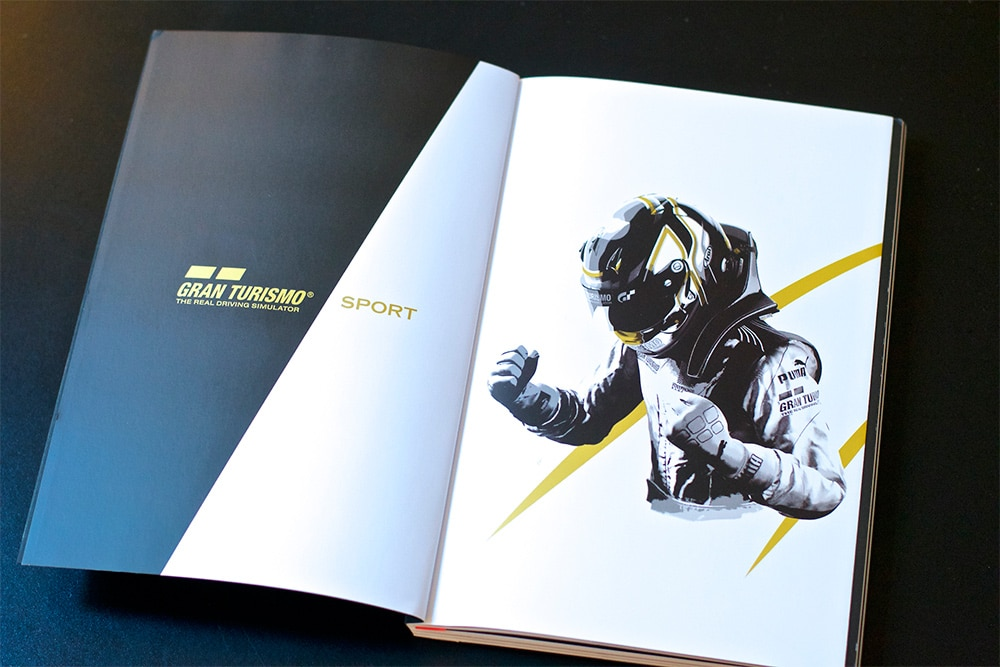 Unboxing Press Kit GT Sport PS4