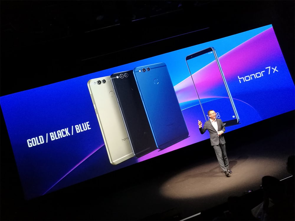 Avis Honor 7X