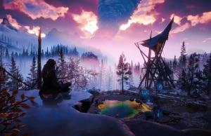 Horizon Zero Dawn Frozen Wilds PS4 Pro