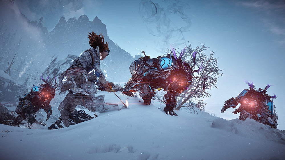 Horizon Zero Dawn Frozen Wilds PS4 Pro