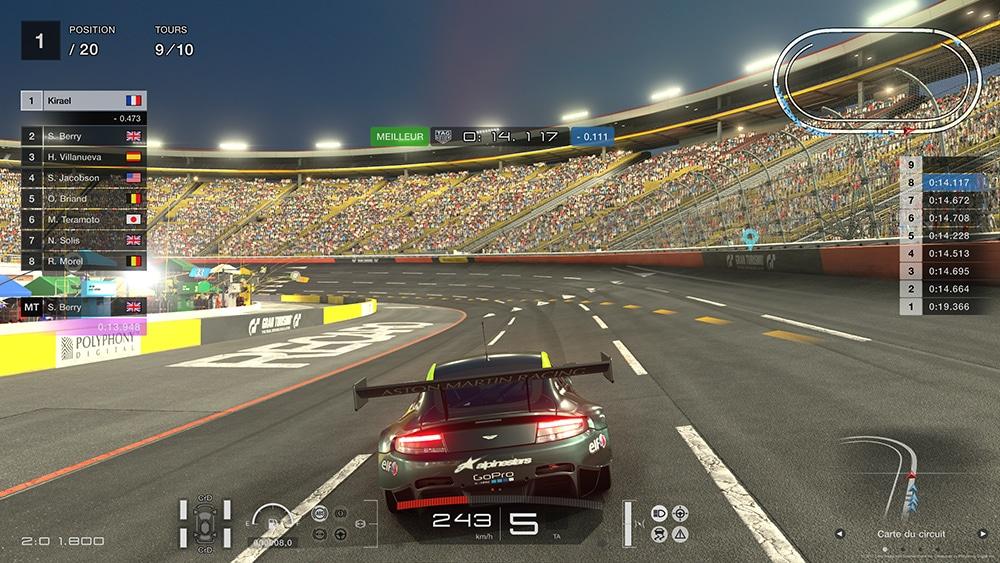 Test GT Sport PS4 Pro