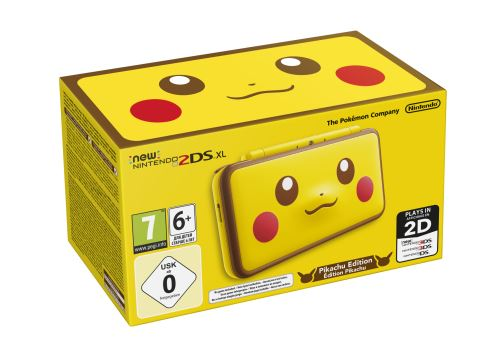 2DS XL Pikachu