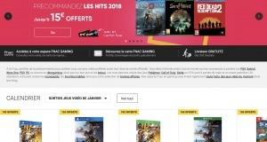Bon Plan Fnac jeux Video 2018