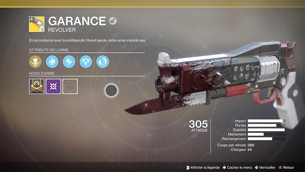 Destiny 2 Garance