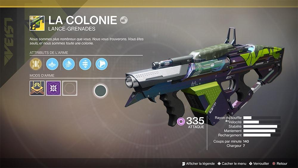 Destiny 2 La Colonie