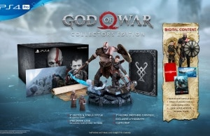 God Of War Collector PS4