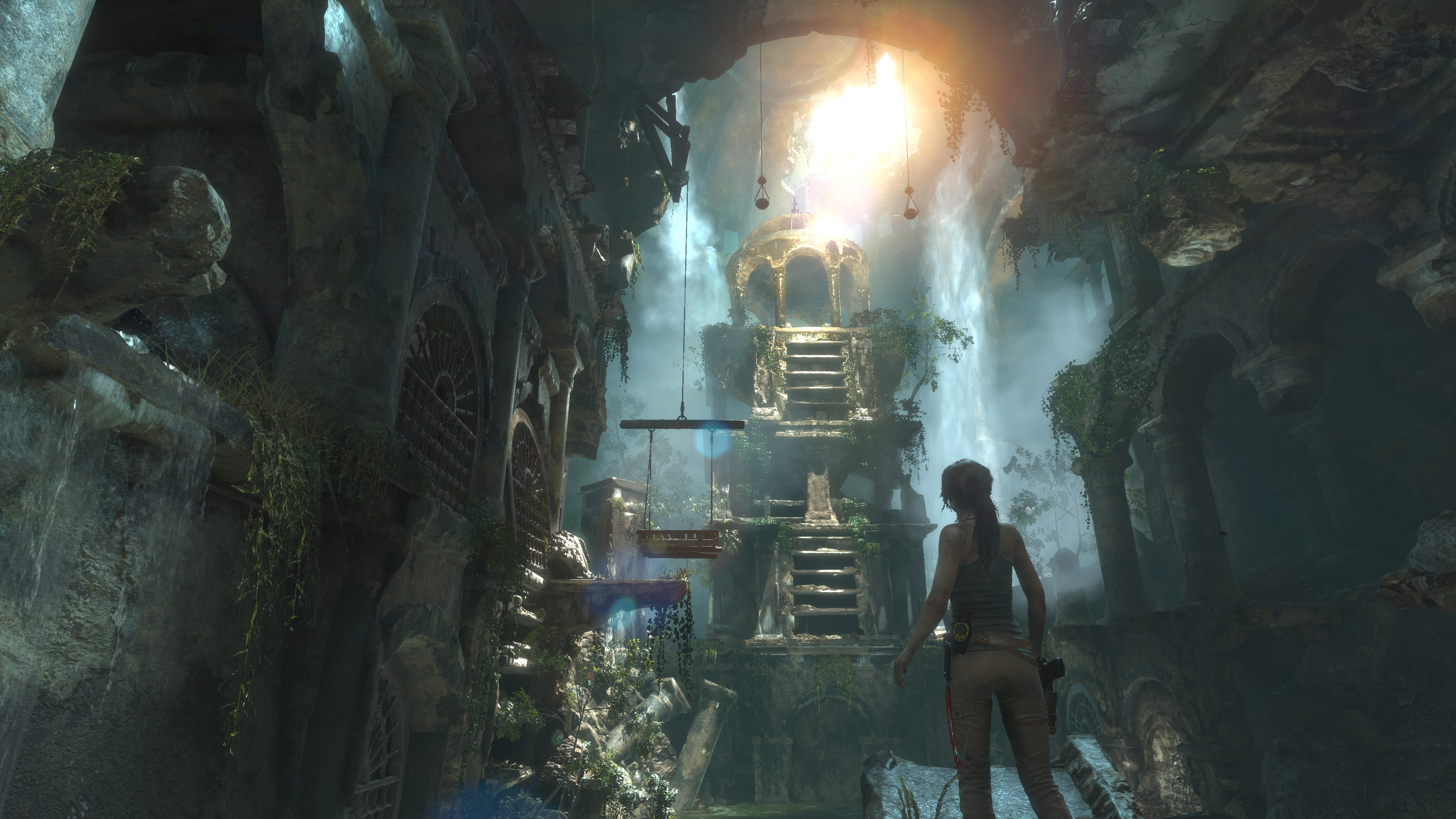 Rise of The Tomb Raider 4K Xbox One X