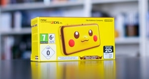 2DS XL PIKACHU EDITION COLLECTOR