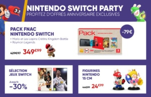 Promo Bon Plan Nintendo Switch